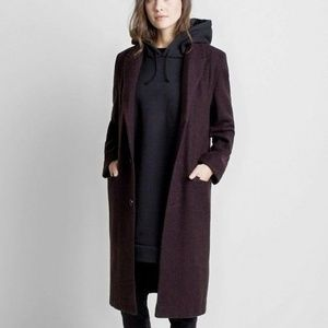 Emerson Fry Ryan Coat in Midnight Red Size 2